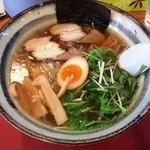 魚介ラーメン武蔵 - 魚介ラーメン(600円)