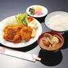 魚と貝のうまい店玉川 - 料理写真:大あさりフライ定食です。