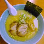 錦 - 鶏白湯塩(ラーメン)