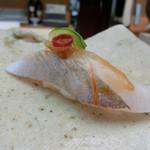 たつみ寿司 - カンパチ 醪味噌
