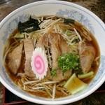 にく友食堂 - にく友ラーメン(麺:2玉)