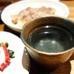 高井戸酒房 Zipangu - 芋焼酎くじら黒麹お湯割り