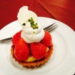 Cafe de 武 - イチゴタルト❤︎450円