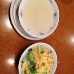 サプラ - ランチサラダ、スープ