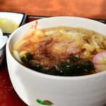 勢川 - ミニ鰻丼定食