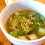 cafe Sawala - スープ