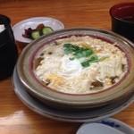 あなご料理 山城 - 柳川定食