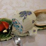 北瑞苑 - 3種のデザート