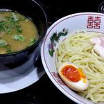 金久右衛門 - 毛蟹と鶏のつけ麺