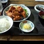 ごはん屋さん - 唐揚げ定食 780円