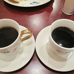 黒猫屋珈琲店 - セットのコーヒーは、軽いもの・強めのもの・酸味のあるものなど4種類から選べます。