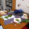 町のお菓子屋さん カオハナ - 料理写真:狭山 抹茶ケーキ「翡翠」