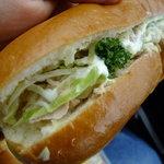必勝堂 - 野菜サンド150円
