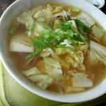 味舞三日月  - 野菜ラーメン