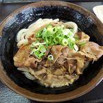 桃山亭 - 肉ぶっかけ冷