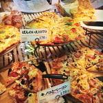 Pannoie - ピザ系のパンも充実