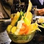 村役場 - 2014.1 農協サラダ(650円)