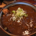 きそば五郎 - カツカレー蕎麦(850円)