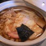 きそば五郎 - 鍋焼きうどん(750円)