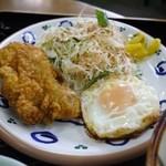 なかま食堂 - そば定食のセット