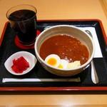 京喫茶 潤 - モーニングカレーどん(680円)