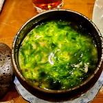 神楽 - 茶碗蒸し(青海苔)