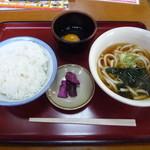 山田うどん - 料理写真:玉子かけごはん¥240