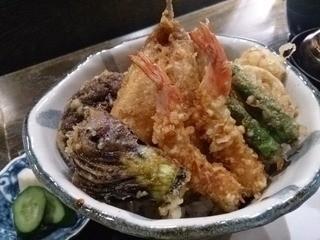 天ぷら岡本 - 上天丼