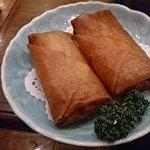 中華菜館 同發 - 春巻き