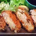 四季酒菜 かえん - 手造りカツヲのカレーコロッケ