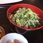 お食事処 燦 - 鯵丼