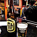 23848599 - 男は黙ってSAPPORO BEER(嬉しい赤★の瓶ビール)