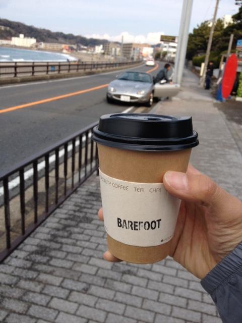 ベアフットコーヒー - トールラテ お持ち帰り