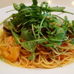 セントベーネ - 海老たっぷり魚介のトマトソーススパゲティー