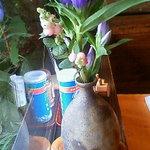 国分寺そば - 季節のお花