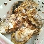 昭和記念公園 バーベキューガーデン - 牡蠣小屋に来ました♪