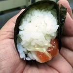 23853752 - サーモン巻き寿司の断面