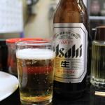 ひょうたん - かなり美味しい瓶ビール小