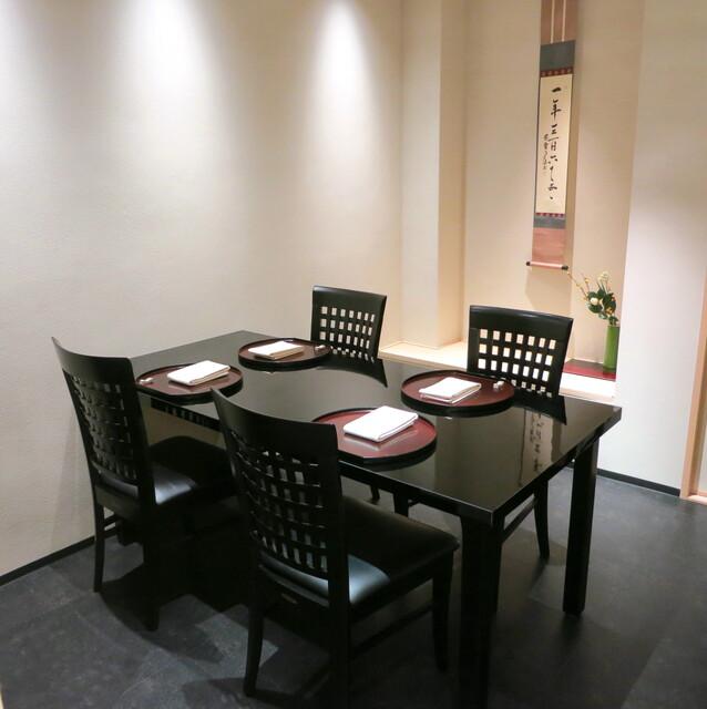日本料理 太月 - 個室 (テーブル席)