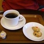 23854656 - 珈琲とサービスのクッキー