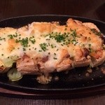 ハマトラ - 新潟栃尾揚げのネギ味噌チーズ焼き