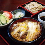 香取屋 - すき焼き丼・そばセット