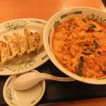 23858579 - チゲ味噌ラーメン餃子セット