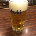 安兵衛 - 生ビール 300円