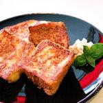 スパシーバ - フレンチトースト 500円
