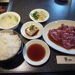 くにき屋 - ツラミランチ(ジャンボ)1200円