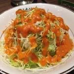 ビスヌ - ワンコインランチのサラダ