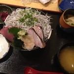 23861307 - 釜揚げしらす三味丼¥1260