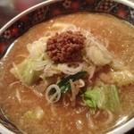 こだわりの麺屋 六本木らーめん - 味噌ラーメン¥890