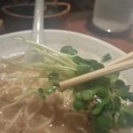 麺 匠仁坊 - お魚こってりラーメンのメンマ